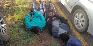 Business robbery averted, Foodzone Thabazimbi. Photo: HPG