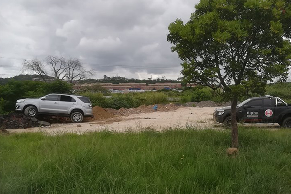 Stolen vehicle recovered in high speed chase, Lamontville. Photo: Alpha Alarms