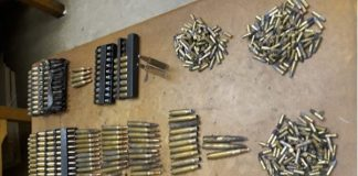 Stash of stolen ammunition recovered, East London. Photo: SAPS