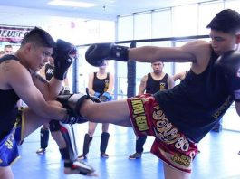Becoming strong with Muay Thai