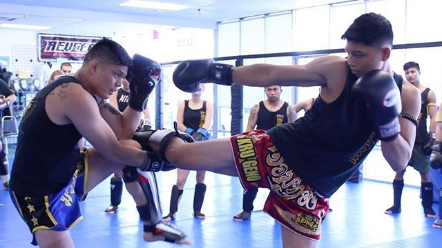 Becoming strong with Muay Thai for healthy