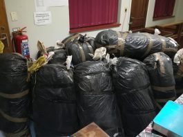 Man arrested with more than 570 kg of dagga, PE. Photo: SAPS