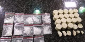 Suspect arrested for possession of drugs, Bisho. Photo: SAPS