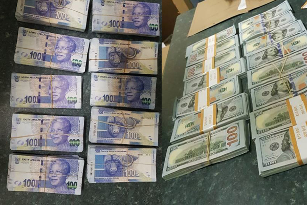 Search Reveals Vehicle Full Of Counterfeit Usd And Sa Rands Louis Trichardt Photo