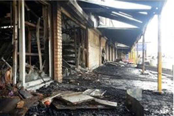 'Fail us we burn down': Two schools burnt down, KZN. Photo: Die Vryburger