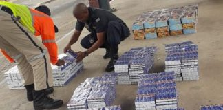 Arrest: Smuggling creams and tablets worth R2.4 mil from Botswana. Photo: SAPS