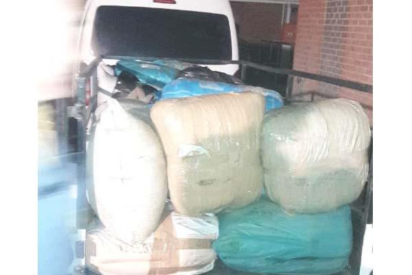 R1 mill worth of dagga en route Western Cape seized, Molteno. Photo: SAPS