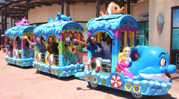 Ocean Express keeps fun on track at uShaka Marine World