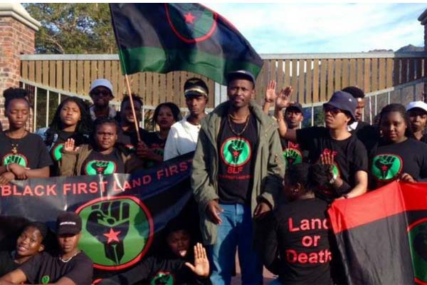 Deregister the BLF for their hateful actions and statements. Photo: FNSA