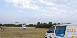 One critical another serious after being shot on a farm North of Pretoria