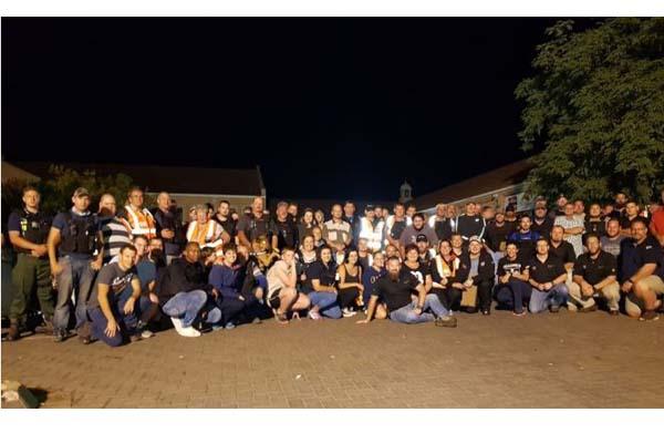 AfriForum mass patrol: 4 000 members, 132 neighbourhood, farm watches. Photo: AfriForum