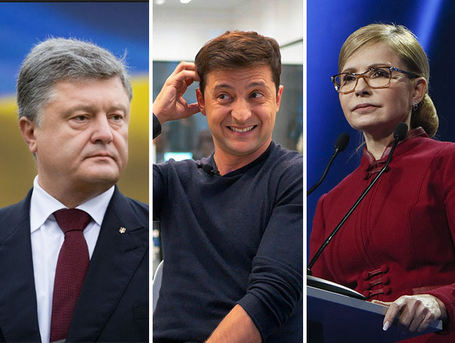 Ukraine's presidential hopefuls face unprecedented pressure from security officials