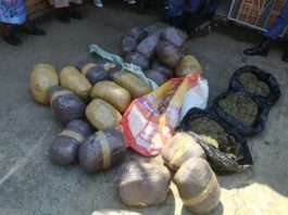 Five suspects nabbed in possession of dagga, crystal meth. Photo: SAPS