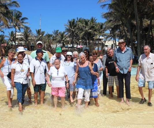 Fun in the sun at uShaka Marine World for over 60 seniors from Bartle House