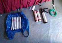 Explosives, stolen vehicles, dagga recovered, Khayelitsha. Photo: SAPS