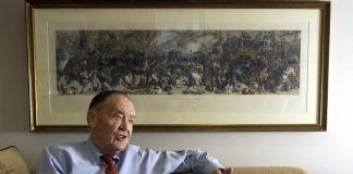 John C. Bogle, founder of Vanguard Group, died in January. Reuters/Tim Shaffer