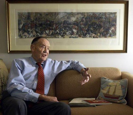 John C. Bogle, founder of Vanguard Group, died in January. Reuters/Tim Shaffer
