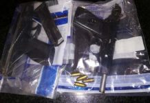 11 Suspects arrested for serious crimes, firearms confiscated, Nyanga. Photo: SAPS