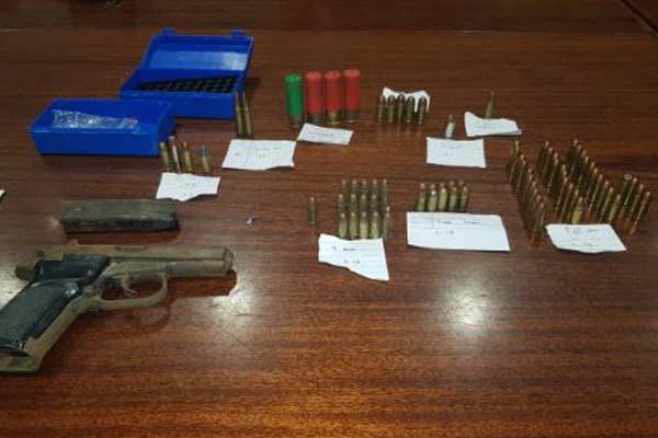 Anti gang unit recover unlicensed firearm, Bishop Lavis. Photo: SAPS