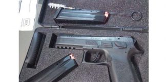 Arrest for attempted murder, stolen firearm recovered, Humansdorp. Photo: SAPS