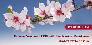 Live stream of Iranian Resistance's Nowruz (Persian New Year) ceremony