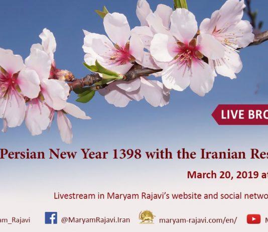 Live stream of Iranian Resistance's Nowruz (Persian New Year) ceremony