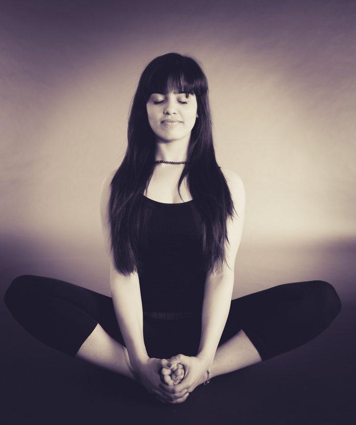 Yoga person