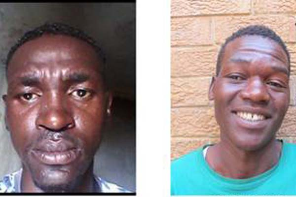 Two armed and dangerous Gauteng serial rapists sought. Photo: SAPS
