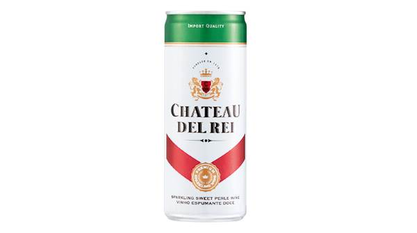 Cheerful Chateau Del Rei bubbly in a can debuts at Cheese Festival