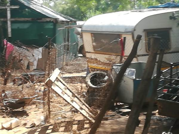Squatter camps in South Africa