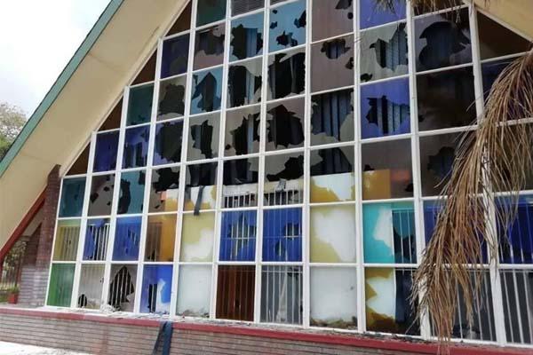 Vandalising of NG church in Wesmoot sets alarm bells ringing