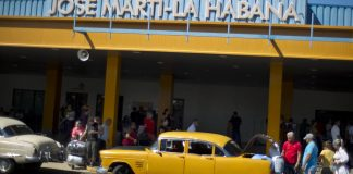 Airlines that fly into Cuba's main airport could now be sued for profiting off of property confiscated during the country's 1959 revolution. AP Photo/Ramon Espinosa, File