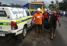 Flooding: Search and rescue mission continues in and around Durban. Photo: SAPS