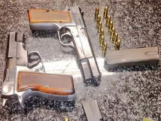 Armed robbery averted, six suspects arrested, Illovo, Johannesburg. Photo: SAPS