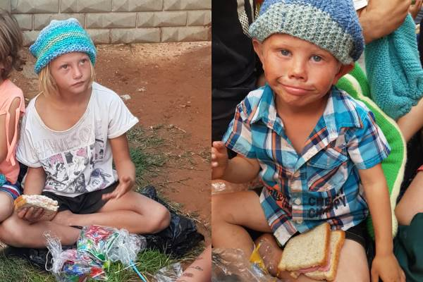 Urgent call for help in the white squatter camps, South Africa. Photo: Boere Gemeenskap Transvaal