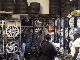 Stolen items: Second hand goods operation yields results, Vryburg. Photo: SAPS