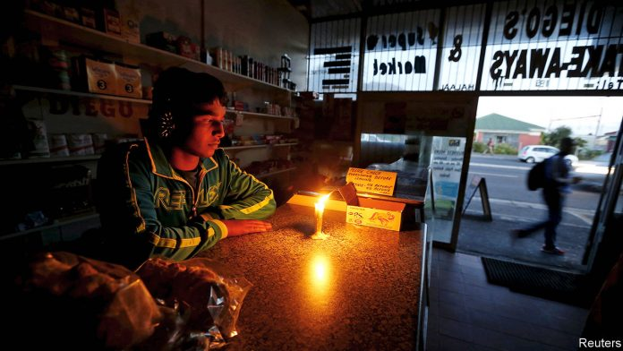 south africa power problems