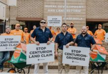Centurion land claim: Authorities deceive community. Photo: AfriForum