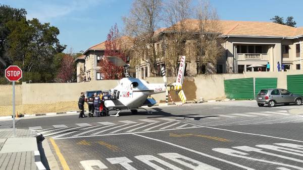 Man airlifted to hospital following Sandton shooting