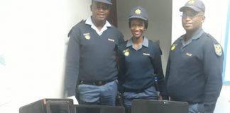 Kakamas police arrest suspect with stolen items. Photo: SAPS
