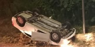 Armed robbers, kill pedestrian, roll vehicle, M25 KwaMashu. Photo: RUSA