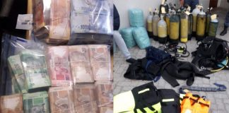 Abalone trade, gangsterism and murder, AGU arrests three suspects. Photo: SAPS