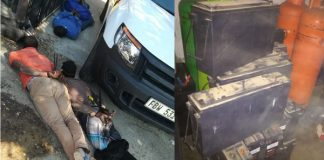 Theft of tower backup batteries, Gauteng gang arrested. Photo: SAPS