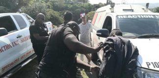 Drug peddler arrested at school sports day, Verulam. Photo: RUSA
