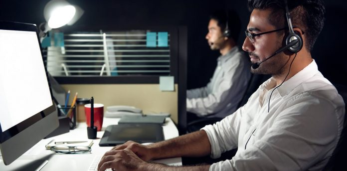 Unlike their South African counterparts, Indian call centre workers have better career prospects Shutterstock