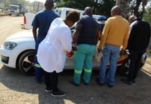 R12 mill fraud attempt, suspects arrested inside bank, Tubatse. Photo: SAPS