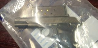Man arrested with unlicensed firearm, drugs, East London. Photo: SAPS