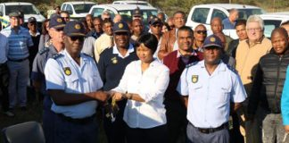 Police units in the Northern Cape receive new vehicles. Photo: SAPS