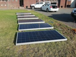 Farmworkers assist in arrest of suspects after solar panels stolen. Photo: SAPS