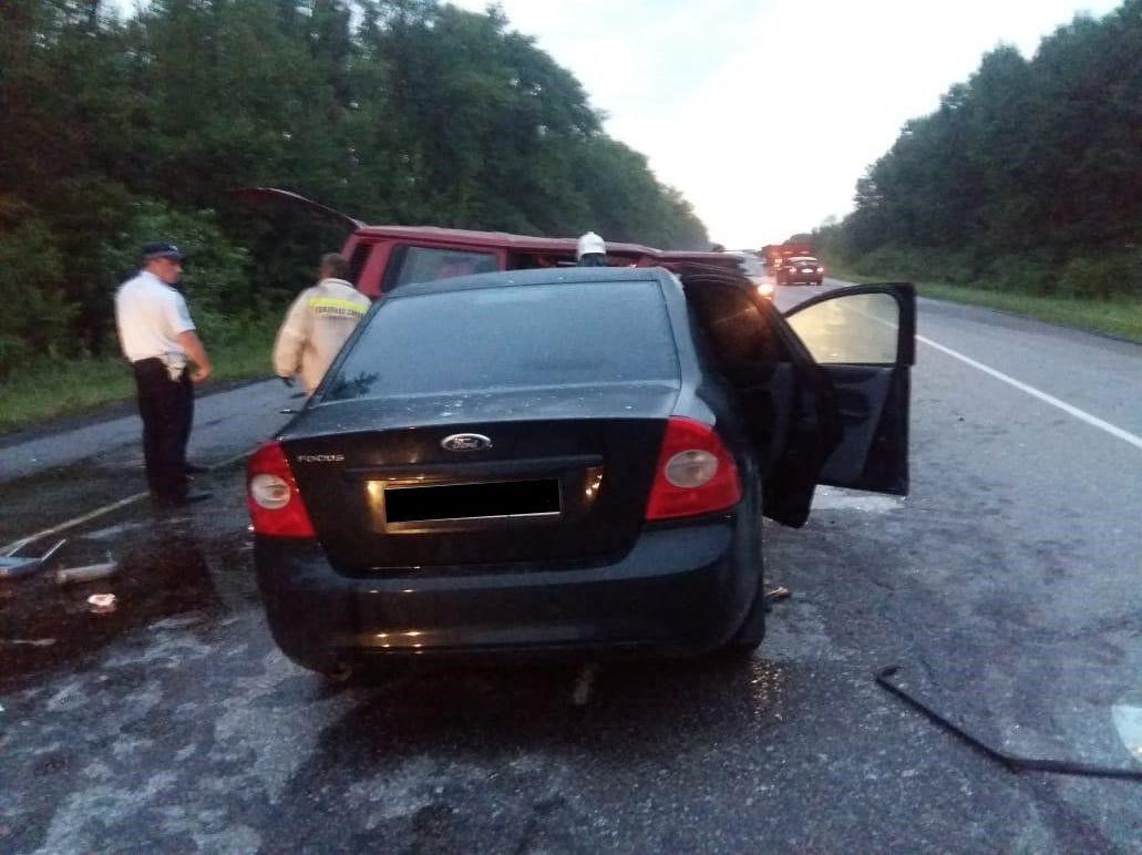 Car accident in Russia's Voronezh region